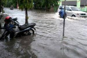 Banjir di Jalan Pemuda, (30/07).