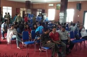 15 Pasangan Mesum terjaring razia Satpol PP, (18/09).