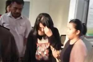 Penangkapan Lolita, tersangka penipu yang jadi markus kasus Narkoba,(20/10).