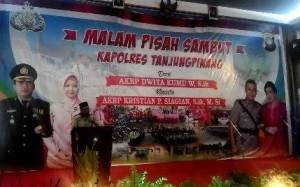 Walikota Tanjungpinang, H Lis Darmansyah SH, mengadiri acara pisah sambut Kapolres Tanjungpinang, (30/09).
