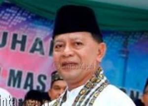 Syahrul, Wakil Walikota Tanjungpinang sekaligus Ketua Dewan Penasehat FKUB Kota Tanjungpinang. F:dokumentasi