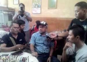 Lis Darmansyah, Walikota Tanjungpinang saat di wawancara pewarta, (16/11).