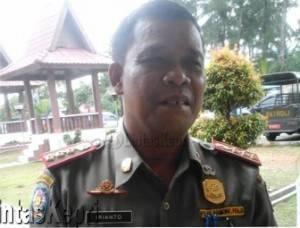 Irianto, Kasatpol PP Kota Tanjungpinang.