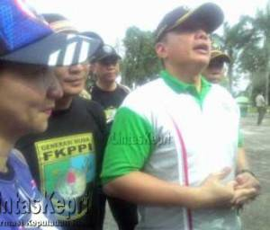 Letkol Inf Charles Sagala, Dandim 0315 Bintan.