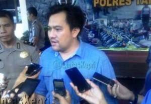 AKP Reza Morandi Tarigan, Kasat Reskrim Polres Tanjungpinang