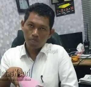Kaur Bin Ops (KBO) Reskrim Polres Tanjungpinang, Iptu Efendi