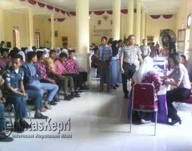 Polda Kepri Rekrut Siswa/Siswi Jadi Anggota Polri