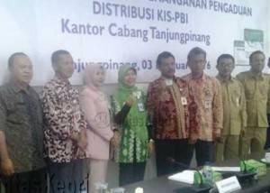 Pihak BPJS saat foto bersama SKPD Kota Tanjungpinang.