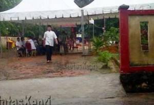 Suasana di TPU Pusara Abadi Kota Tanjungpinang.