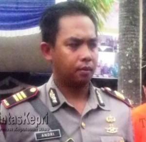 Kasat Reskrim Polres Tanjungpinang, AKP Andri Kurniawan