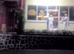 Anggota FPI Ketika Mendatangi SPK Polres Tanjungpinang