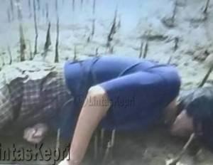 Sesosok mayat laki-laki di Sungai Tebat, Kampung Bugis, Kota Tanjungpinang