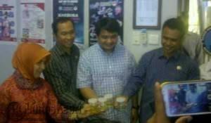 Empat anggota Fraksi Golkar di DPRD Tanjungpinang jalani tes urine di kantor BNN
