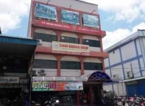 Kantor PT Sinar Bodhi Cipta yang berada di Bintan Center Jalan DI Pandjaitan KM 9 Tanjungpinang