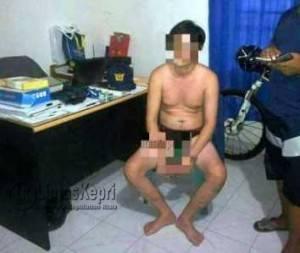 Pelaku warga negara Malaysia yang berhasil diamankan