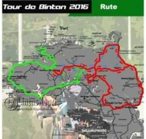 Rute Event Tour De Bintan 2016