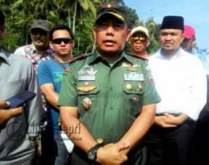 Komandan Resort Militer (Danrem) 033/Wira Pratama Tanjungpinang, Provinsi Kepulauan Riau (Kepri), Brigadir Jenderal (Brigjen) TNI Madsuni
