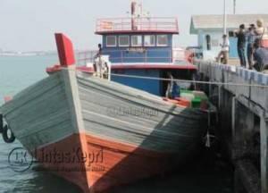 Inilah Kapal yang diamankan Inilah Kapal Penyelundup yang diamankan Danlamal IV Tanjungpinang