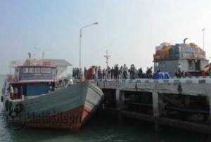 Inilah Kapal penyelundup yang diamankan Danlamal IV Tanjungpinang