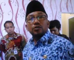 Walikota Tanjungpinang, Lis Darmansyah, Kamis (17/3)