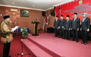 Walikota Tanjungpinang, Lis Darmansyah saat Lantik Pengurus Baznas Kota Tanjungpinang
