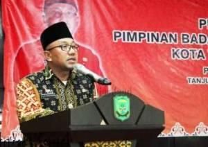 Sambutan Walikota Tanjungpinang, Lis Darmansyah Usai Lantik Baznas Kota Tanjungpinang