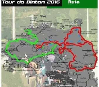 Inilah Rute Tour de Bintan