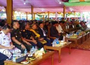Tamu undangan yang hadir dari kalangan pejabat hingga masyarakat