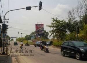 Inilah Traffic Light yang Tak Berfungsi Sejak Awal Tahun Baru 2016 di Kabupaten Karimun