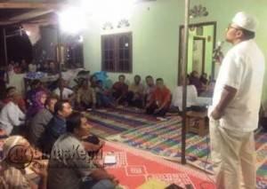 Walikota Tanjungpinang Lis Darmansyah saat memberika arahan kepada masyarakat Kampung Sumberejo