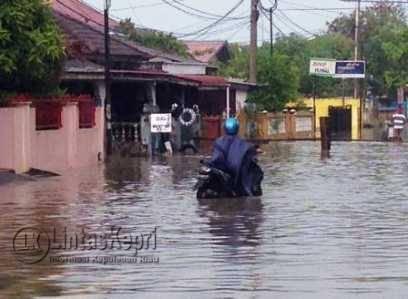 Ratusan Rumah Warga Tergenang Banjir