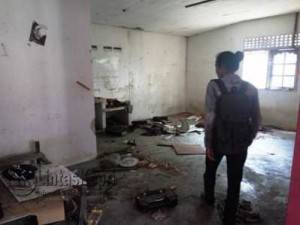 inilah kondisi asrama putra mahasiswa Lingga di Kota Tanjungpinang (f.Aji Anugraha)