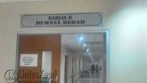 Inilah Ruangan tempat Sumarni Sofiaty, Penderita Tumor Ganas di rawat, RSUP Kepri, Jumat (17/6).