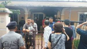 Inilah rumah Aang, warga Jalan Karimun, Nomor 69, RT.006/RW.007 Kelurahan Sei'jang, Kecamatan Bukit Bestari yang nyaris terbakar, Rabu (1/6)