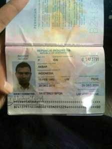 Identitas Akbar (36) diduga menyelundupkan Narkoba Jenis Sabu dalam perut yang dimankan BC Batam, Minggu (5/6)