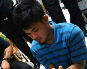Inilah AZ (27) Tersangka Penyelundup sabu asal Malaysia