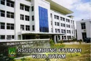 RSUD Embung Fatimah, Batam. Foto Net