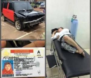 Korban Rosmawati dan BB Toyota Kijang warna hitam merah BP 1685 TA, 1 buah SIM A. An. Rosmawati dan 1 buah STNK