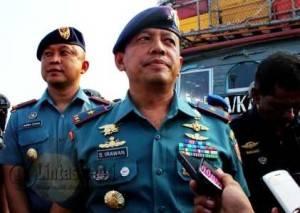 Komandan Lantamal IV Laksma TNI S. Irawan (f.aji anugraha)