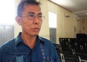 Usman Taufik, Ayahanda almarhum Asrul Alfalaq. (Foto. Aji Anugraha)
