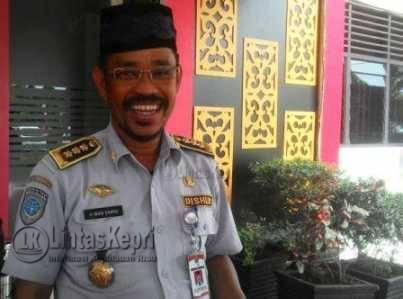 Kepala Dinas Perhubungan Komunikasi dan Informatika (Dishubkominfo) Tanjungpinang, Wan Samsi.