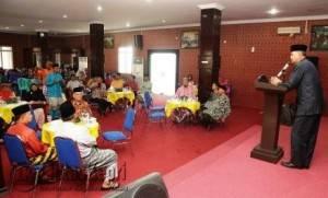 Sambutan Wakil Walikota, Syahrul di Acara Halal Bihalal Keluarga Besar Karimun