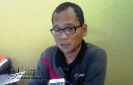 Kabid Perdagangan Dinas Perindustrian Perdagangan Ekonomi Kreatif dan Penanaman Modal (Disperindag Ekraf dan PM) Tanjungpinang, Teguh Susanto.