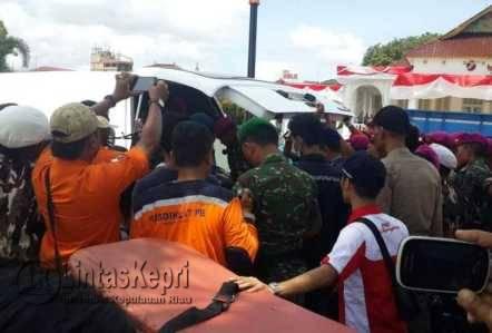 Korban Terakhir Pompong Tenggelam Ditemukan, Senin (22/8) pukul 12.45 WIB