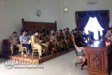 Tamu undangan dari SKPD yang hadir di DPRD Kota Tanjungpinang.