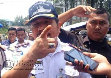 Kepala Kantor Kesyahbandaran dan Otoritas Pelabuhan (KSOP) Tanjungpinang Teddy Mayandi