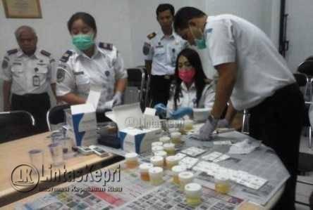 Kemenhub RI Tes Urine di KSOP Tanjungpinang