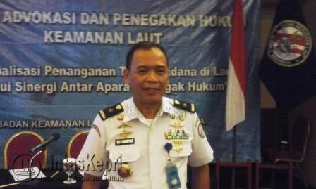 Direktur Hukum Bakamla RI Laksma TNI Yuli Dharmawanto