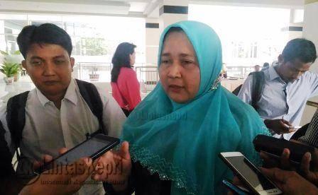 Kepala Badan Pengusahaan (BP) FTZ Tanjungpinang, Den Yealta saat diwawancara wartawan di Hotel CK Tanjungpinang, Rabu (23/11).