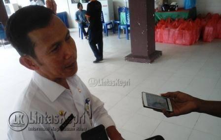 Kepala Dinas Sosial Dan Tenaga Kerja (Dinsosnaker) Kota Tanjungpinang, Surjadi.